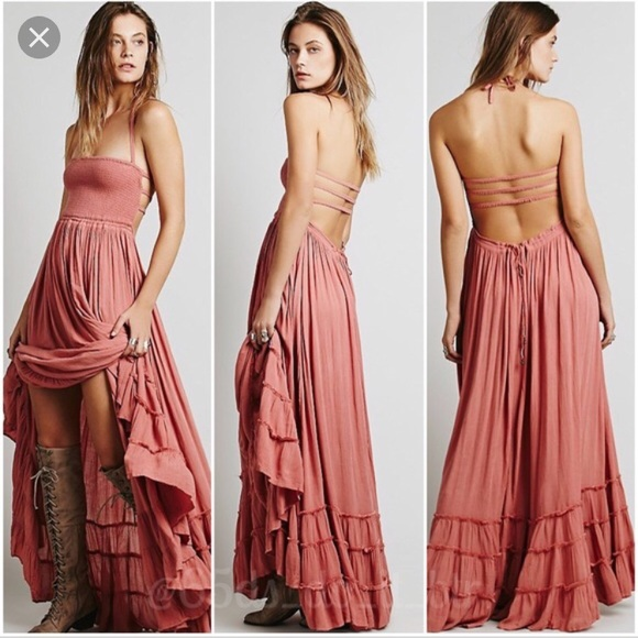 465e610c14f Free People Dresses   Skirts - Free People Extratropical dress in dusty rose